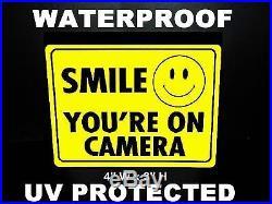 1000 LOT OF SECURITY VIDEO SURVEILLANCE CCTV CAMERA DOOR WINDOW WARNING STICKERS