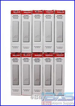 10 Honeywell Ademco Adt 5819whs Wireless Door Shock Sensor