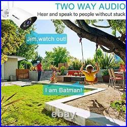 2.4/5GHz Outdoor WiFi Security Camera GENBOLT Floodlight Wireless Home Surve
