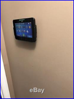 2 Adt Pulse Hss301 Touch Screens With Wall Mounts And Ac Adapters. No Stands