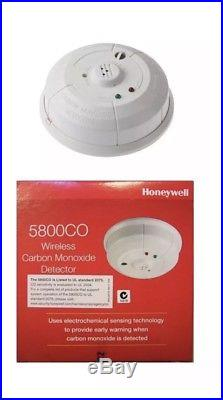 2 NEW ADEMCO/HONEYWELL/ADT 5800CO Wireless Carbon Monoxide Detector EXP2023