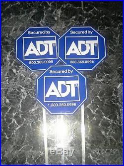3 ADT Yard Sign