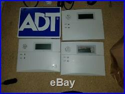 3x Honeywell 6150ADT 6150 Alarm Security Keypad Vista Panel
