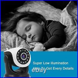 4X Digital Zoom WiFi Home Security Camera GENBOLT 1080P indoor Dog Baby Moni