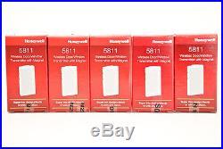 5 Ademco ADT Honeywell 5811 Wireless Home Burglar Alarm Security System House