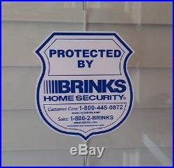 5 Alarm Stickers Home Security Decals