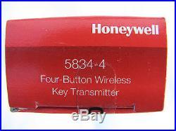 6 Ademco ADT Honeywell 5834 -4 Wireless Home Burglar Alarm Security System House