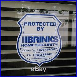 6 Security System decals stickers