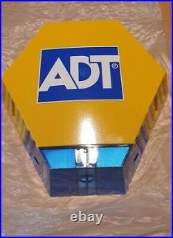 ADT Alarm Dummy Box Solar & Battery Powered Latest Model Twin LED's BNIB