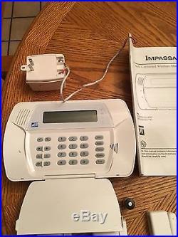 ADT Alarm System includes- Keypad, 2 smoke, 6 motion, 2 remotes & Manual