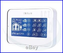 ADT Branded Visonic Touch Screen LCD Keypad PG2 KP160 Power Master Max Express