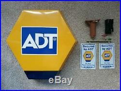 ADT Dummy Alarm Box With Sticker & Led