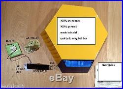 ADT Dummy Alarm Solar Panel LED burglar HOUSE Flashes LED