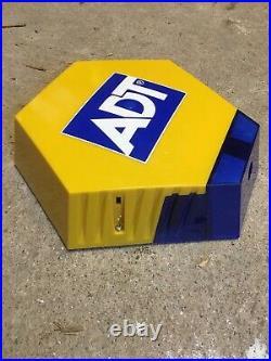 ADT Dummy Solar Powered Burglar Alarm Box With Stickers (FREE POSTAGE)