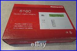 ADT Honeywell 6160 Custom Alpha Keypad Vista Alarm 60 day returns Priority Ship