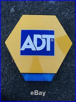 ADT Intruder alarm live bell box. Elmdene new style