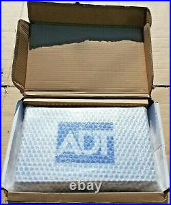 ADT Polished Stainless Steel Twin LED Live Alarm Siren Bell Box LATEST VERSION