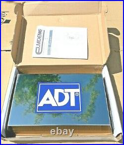 ADT Polished Stainless Steel Twin LED Live Alarm Siren Sounder Bell Box (6000)