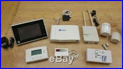 ADT Pulse Home Security Bundle, iHub-3000B, Z-wave thermostat, motion, and More