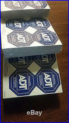 Adt Stickers 1,200 Stickers Lot