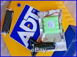 ADT Solar LED Flashing Alarm Bell Box Decoy Dummy Kit Bracket & 2200mAh Battery