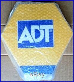 ADT Solar LED Flashing Alarm Bell Box Decoy Dummy Kit + Bracket And Battery DCF3