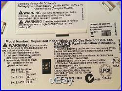 ADT Visonic GSD 442 PG2 Wireless CO2 Gas Detector (868-0000) ID-220-2770 RefM1