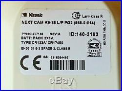 ADT Visonic NEXT CAM K9-85 LP PG2 Wireless Two Way PIR Camera ID-140-3163 RefM1