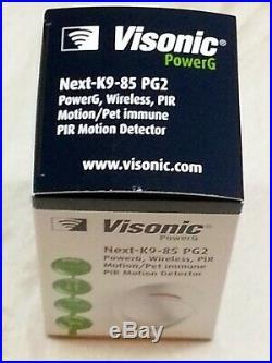ADT Visonic NEXT K9-85 PG2 Wireless PIR Pet Friendly (868-0012 FR) Set 6-1