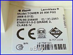 ADT Visonic Tower 20AM Wireless Outdoor Digital Mirror PIR (868-0)ID-130-2983 M1