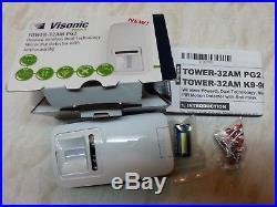 ADT Visonic Tower 32AM PG2 Wireless Dual Technology PIR 90-204857 ID150-1784