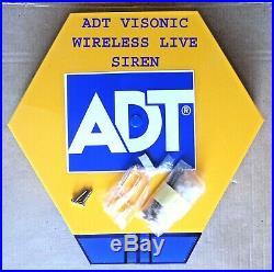 ADT Visonic Wireless PowerMaster POWERG External Siren (868-0) ID410-1538