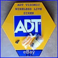 ADT Visonic Wireless PowerMaster POWERG External Siren (868-0) ID410-4625