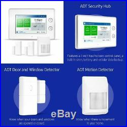 ADT Wireless Home Security Starter Kit with DIY Smart Alarm with Motion Detector