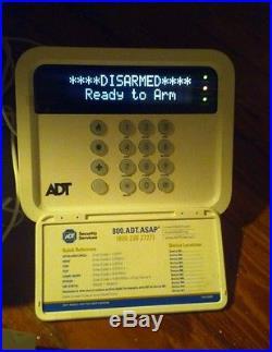 ADT wireless home security system, COMPLETE SYSTEM safe burgular working alert