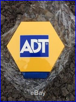 Adt Live Siren Bell With Flashing Led, Battery Backup. Could Be Dummy Box