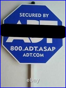 Adt Security Alarm Yard Sign (52 Pc Case)
