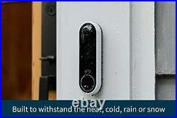Arlo Essential Video Doorbell Wire-Free HD Video, 180° View, Night Vision, 2