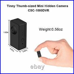 BSTCAM Spy Hidden 1080P HD Wireless Home Security Surveillance Mini Cameras, FHD