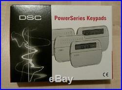 Brand New Dsc Pk5500eng Pk5500 Eng Keypad Touchpad 64 Zone Powerseries LCD