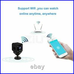 Camera Mini Camcorder WiFi 1080P HD Security Wireless IP Home Built-in Battery