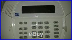 DSC ADT wireless home alarm security system with sensors