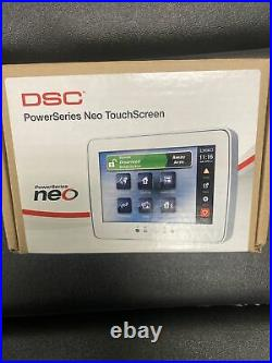 DSC HS2TCHP PowerSeries NEO White 7 Hardwired Touch Screen Keypad
