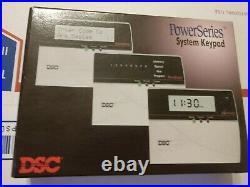 DSC LCD5500Z English Language Alarm Keypad For Power Series NEW NIB