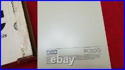 DSC PC550 Alarm Control & PC500RK 4 Zone Alarm Keypad Classic New & Unused