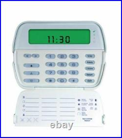 DSC PowerSeries 64-Zone LCD Picture Icon Keypad with Wireless Receiver RFK5501