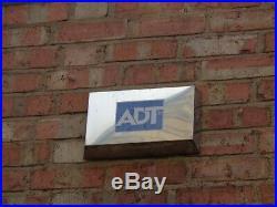 Dummy burglar alarm /sounder / bell box, ADT stainless steel