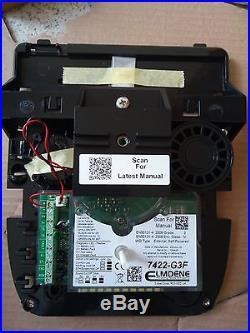 GENUINE ADT LIVE Alarm Bell Siren ref ELMDENE 7422-G3F GRADE 3 -Electronics Only