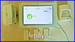 GE INTERLOGIX QOLSYS IQ2 Panel Zwave VERIZON LTE QS-9201-1200-840+DOORS+MOTION