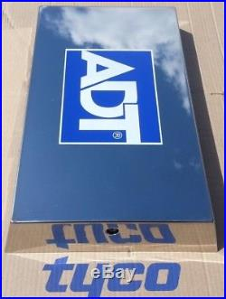 Genuine ADT Polished Stainless Steel LIVE Alarm Flashing Siren Bell Box Ref G3S